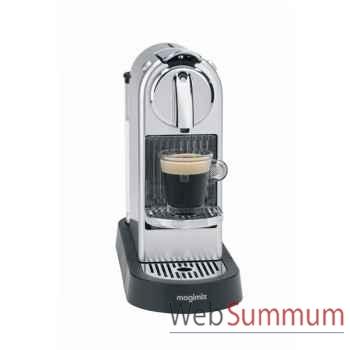 Magimix nespresso citiz argent -003035