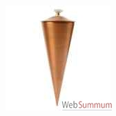6 lampes a huile cairo finition cuivre aristo 824951