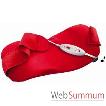 Soehnle ceinture chauffante rouge - active pro -003127