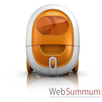 Philips aspirateur sans sac 1800w orange - smallstar -003142
