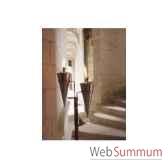 2 lampes a huile alexandria duo finition cuivre rustique aristo 820603