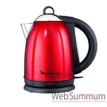 Moulinex bouilloire 1,5l rouge inox - subito -003202