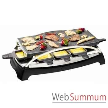 Tefal pierrade raclette - inox & design -003223