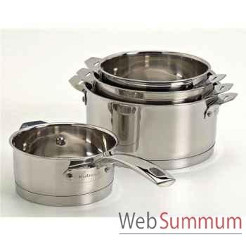 Aubecq série de 4 casseroles - plug & play profile -003297