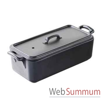 Revol terrine 600 gr noir - belle cuisine -003622