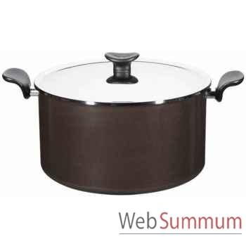 Tefal marmite 30 cm + couvercle inox - enjoy -004023