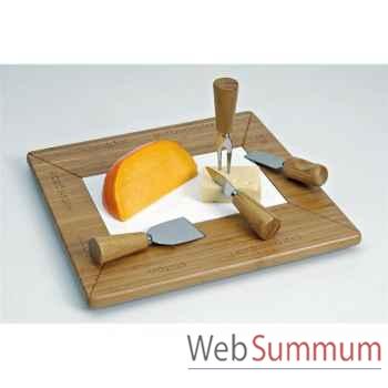 Jour de marche planche à fromage/couteaux/pelle -004152