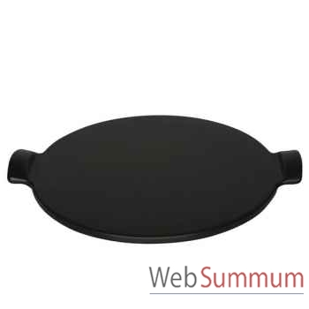 Emile henry pierre à pizza ronde 36,5 cm - bbq -004285