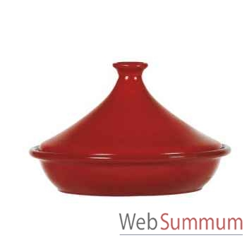 Emile henry tajine 25 cm rouge - flame -004399