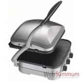 cuisinart plan de cuisson multifonctions acier brosse 004812