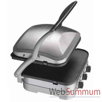 Cuisinart plan de cuisson multifonctions acier brossé -004812