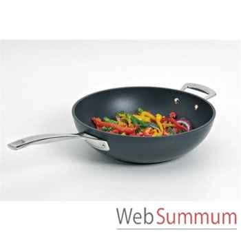 Le creuset poêle wok 30 cm - forgée -004807
