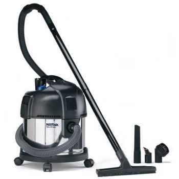 Nilfisk aspirateur eau et poussière cuve inox - aero 20 -004840