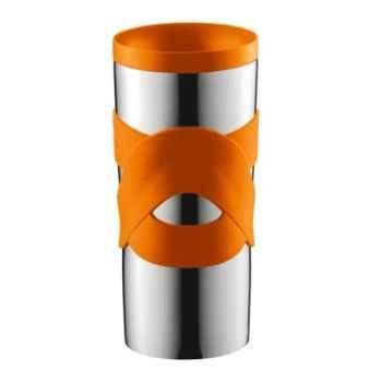 Bodum travel mug 0.45 l étanche inox orange  -004936