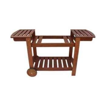 Simogas chariot bois pour plancha universel -005052