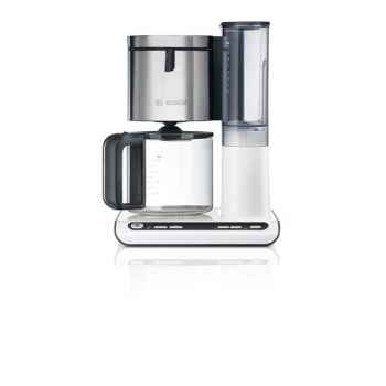 Bosch cafetière programmable 10 tasses blanc inox - styline -005100