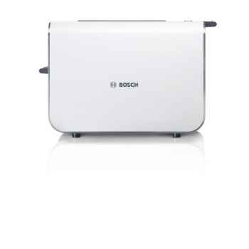 Bosch grille pain toaster 2 fentes blanc inox -  styline -005101