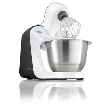 Bosch robot multifonction 700w blanc gris anthracite - kitchen machine styline -005108