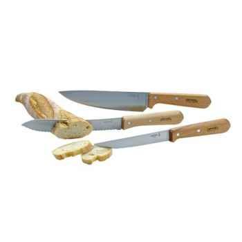 Opinel coffret de 3 couteaux - classic -005642