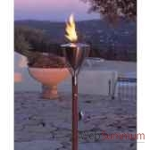2 lampes a huile amsterdam cuivre rustique aristo 820821
