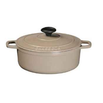 Chasseur cocotte en fonte ovale 29 cm -006292