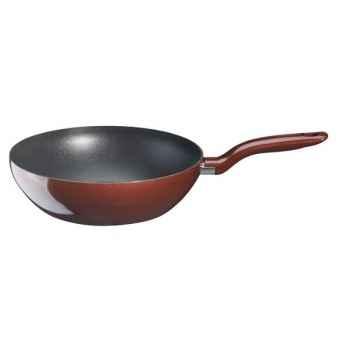 Tefal poêle wok 28 cm  rouge - artista -006404