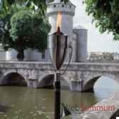 2 lampes a huile manhattan modele acier brosse aristo 828655