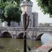 2 lampes a huile manhattan acier brosse aristo 828656