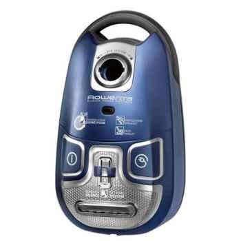 Rowenta aspirateur 1100 w bleu - silence force extrême -006461