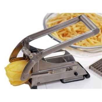 Baumalu coupe-frites à 2 grilles inox -006570