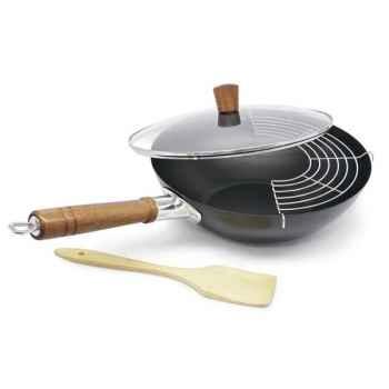 Aubecq wok 32 cm  - guo -006574