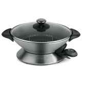 riviera bar wok 8 personnes inox 006577
