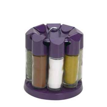 Emsa carrousel à épices - aubergine -006672