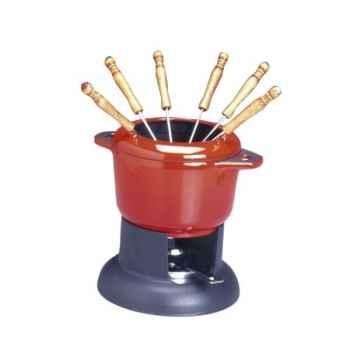 Invicta service à fondue mixte - rubis -006751