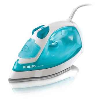 Philips fer à repasser vapeur 2000w bleu - powerlife -006755