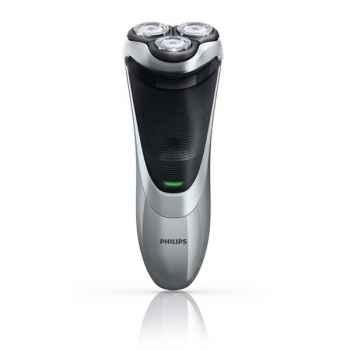 Philips rasoir rechargeable argent et noir - power touch plus -006764