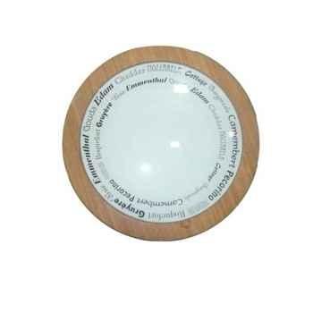 Plateau à fromage en bambou 36 cm -006786