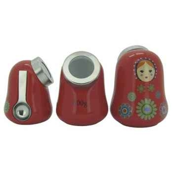 Sefama set de 3 pots conservation - matriochka -006876