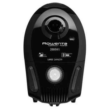 Rowenta aspirateur sac compact power 2000w noir -007248