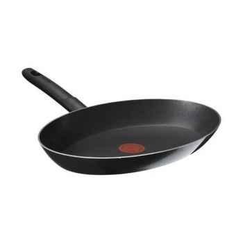 Tefal poêle à poisson ovale 36 cm noir - ideal -007371