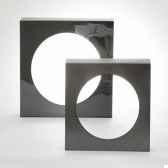 lampe disco acier design fdc 6278argent