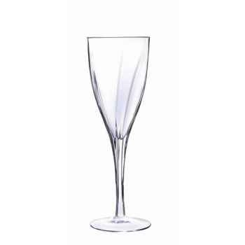 """Cristal d'arques verre à pied diamax """"x6"""" - elixir -008051"""