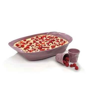 Revol plat four + 2 gobelets froissés - happy cuisine -008327