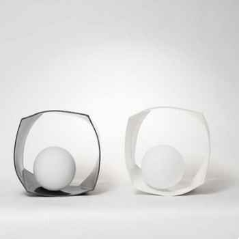 Lampe Eon argent ou or Design FdC - 6281argent