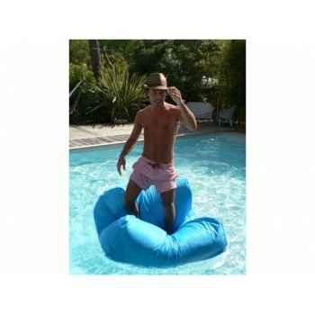 Pouf sit in pool gris foncé Delorm Design