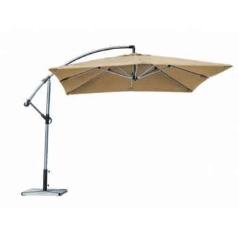Parasol déporté carré pop Delorm Design