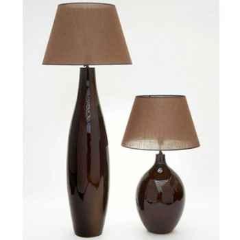 Lampe Bali argent Design FdC - 6167argent