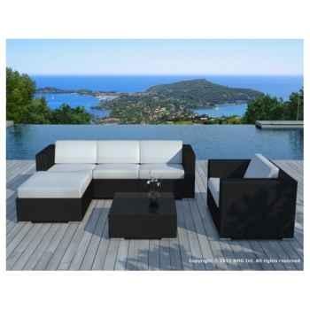 salon de jardin copacabana en r sine tress e chocolat delorm design. Black Bedroom Furniture Sets. Home Design Ideas