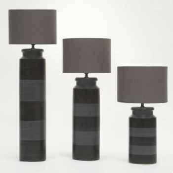 Lampe Gitane argent Design FdC - 6043argent