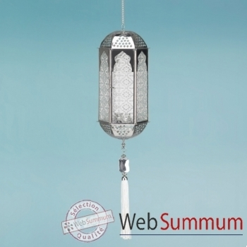 16 lanternes en verre 'joyaux' Indian Garden Company -IND-LT-11